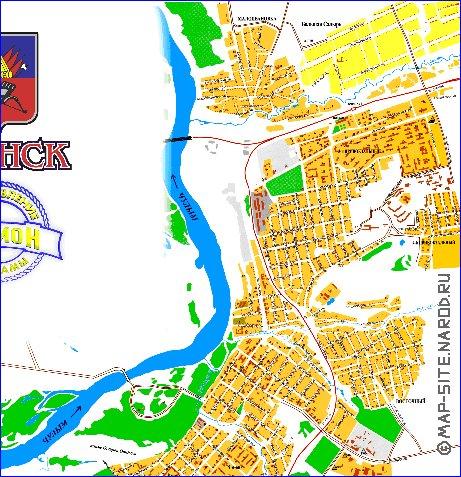 карта ачинска карта ачинска